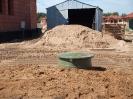 Widok zbiornika gazu po zakopaniu